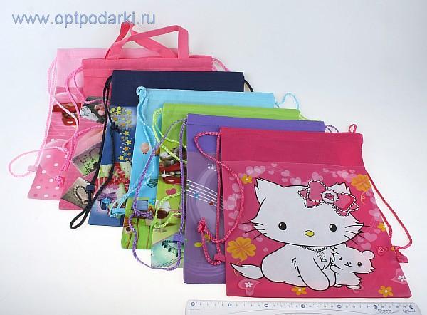 Сумка-рюкзак дет. текстиль пластик В2042 минимум 10.